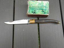Ancien couteau de poche LAGUIOLE 440 made in France avec mouche.