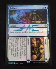 MTG Failure Comply Promo Stamp FOIL Amonkhet Signed by Jason Engle NM w/ COA