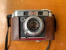 Kodak Signet 40 camera. Original. Leather Cover. Vinyl Case. Flash Attachment.