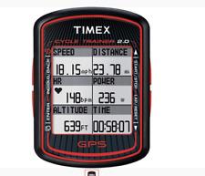 Timex T5K615 Cycle Trainer GPS Fahrradcomputer mit Pulsmesser – Schwarz