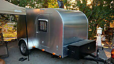 DIY Plans to Build Your 5' x 10' Extra Tall Teardrop Tear Drop Camper Trailer