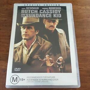 Butch Cassidy and the Sundance Kid DVD R4 Like New! FREE POST Special Edition