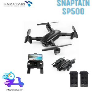 SNAPTAIN SP500 1080P DRONE CON TELECAMERA FHD E GPS WiFi 5G CON 2 BATTERIE