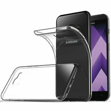 For Samsung Galaxy A3 Case Clear Gel Cover Glass Screen Protector & Stylus Pen