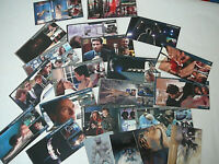 x-files trading card da collezione, vendo in blocco, quelli in foto