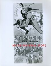 "Kane Richmond Spy Smasher 1940's Serial 8x10"" Photo From Original Negative L7658"
