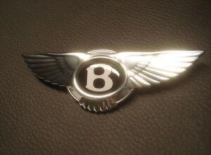 Bentley Logo für Lenkrad Badge Emblem Steering Wheel Zeichen Airbag