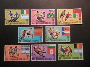 Togo 1970 - Football Championship, Michel 792-99, complete used