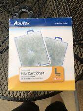Aqueon QuietFlow Replacement Filter Cartridges Large - 12 Pack