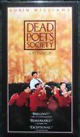 Dead Poets Society - Robin Williams - (VHS, 1995)