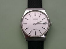 Lovely Vintage Citizen Seven 1410 Quartz Watch with new tropic style strap