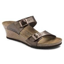 dbdf83d8e07 NIB Birkenstock Papillio Dorothy Wedge Sandals in Toffee 1009903 Narrow  width