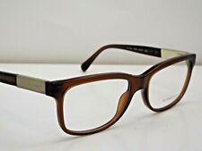 Authentic BURBERRY B2164 3469 Brown Gold Eyeglasses Frame DEMO MODEL $275