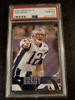 🔥TOM BRADY 2006 Upper Deck #113 PSA 10 GEM MINT Pop 50 GOAT🐐