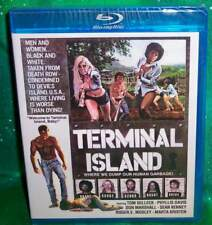 NEW RARE OOP CODE RED TOM SELLECK PHYLLIS DAVIS TERMINAL ISLAND MOVIE BLU 1975