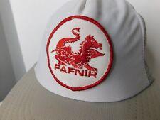 Vintage FAFNIR Dragon Aircraft Parts ? Snapback Truckers Hat