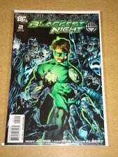 BLACKEST NIGHT #2 DC COMICS GREEN LANTERN