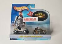 2003 Hot Wheels Lara Croft Tomb Raider Jeep & Motorcycle See Pictures