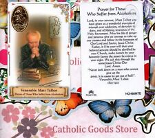 Venarable Matt Talbot with Prayer - Plastic stock Holy Card