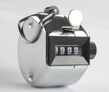 New 4-Digit Number Clicker Golf Hand Tally Counter