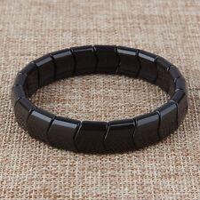 Power Ionic Negative Ion Healthcare Tourmaline Beads Stretch Bracelet Unisex