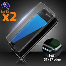 FULL COVER TEMPERED GLASS Screen Protector For Samsung GALAXY S6 S7 Edge
