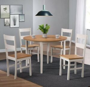 Dining Table And Chairs Bench In Table Chair Sets For Sale Ebay