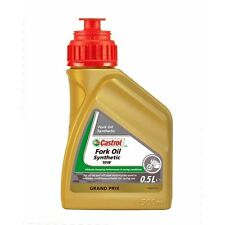 (11,42 €/L) castrol Fork oil synthetic SAE 10w tenedor-aceite 500 ml 151ac4