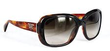 Prada Sonnenbrille / Sunglasses SPR17P NAK-6S1 Gr. 57 Konkursaufkauf //411(23)