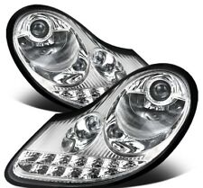 Porsche Boxster 986 996 MK1 Chrome LED DRL Phares Projecteur Set ou Paire de 2