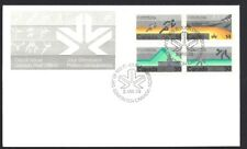 Canada   # 759 - 762 Block A  COMMONWEALTH GAMES    New 1978 Unaddressed