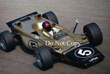 Emerson Fittipaldi Lotus 56B Turbine Italian Grand Prix 1971 Photograph 7