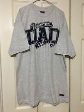 Vintage JanSport T Shirt Large Assumption College Dad Gray USA Made