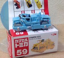 Capsule Tomica Construction 59 Dynapac CC21 road roller 2006 series 12 Yujin