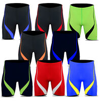 ACCLAIM Fitness Shanghai Mens Compression Swimming Jammer Training Lycra Shorts