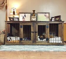 Dog Kennel / Dog Crate / Indoor Dog / Wood Dog Kennel Crate / Dog Bed
