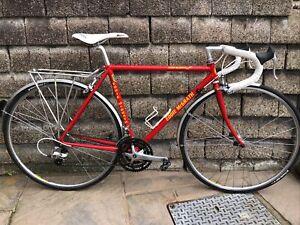 Vintage Handbuilt Eddie McGrath Reynolds 631 Steel Small 51cm Touring Bike