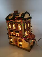 Share The Joy Cafe Roma Porcelain Led Lighted House Christmas Village