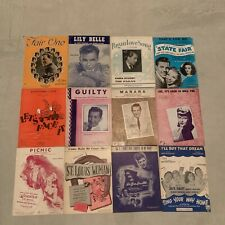 Lot Of Vintage Sheet Music 50+