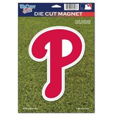 """PHILADELPHIA PHILLIES OFFICIAL LOGO 6""""x9"""" DIE CUT MAGNET BRAND NEW FREE SHIPPING"""