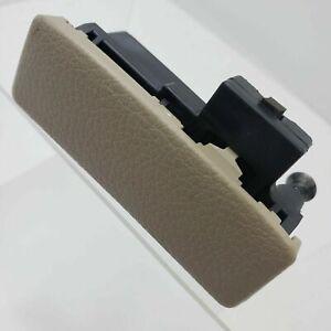 2011 Nissan Versa Glove Box Compartment Handle Latch Tan Beige with screws