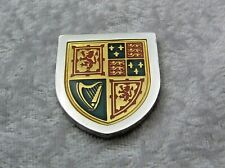 THE COATS OF ARMS OF THE GREAT MONARCHS INGOT JAMES VI I FRANKLIN MINT