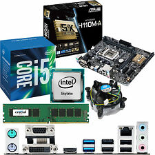 INTEL Core i5 6400 2.7Ghz & ASUS H110M-A & 4GB DDR4 2133 CRUCIAL Bundle
