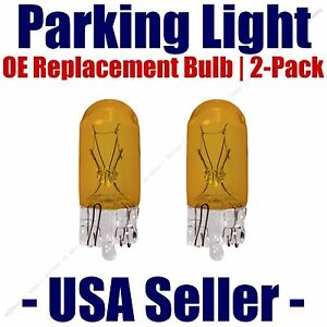 Parking Light Bulb 2-pack OE Replacement Fits Listed Dodge Vehicles - 2827