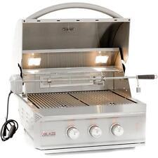 "27"" Blaze Pro 2-Burner Built-In BBQ Island Gas Grill With Rear Infrared Burner"