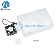 ABS Case Cover Enclosure Combo Box + Cooling Fan For Raspberry Pi2 3 Model B+