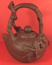 Yixing Zisha Clay Immortal Peach Teapot Senior Master Craftsman Jiang Jianxiang