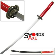 Ninja Stealth Samurai Gaiden Katana Video Game Sword Red Cosplay Replica