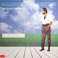 MAXIME LE FORESTIER Les Jours Meilleurs FR Press Polydor 815 997 1983 LP
