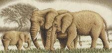 Golden Series J-0596 A Wonderful Family Elephants